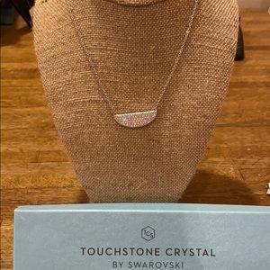 Swarovski shine everyday necklace aurore boreale